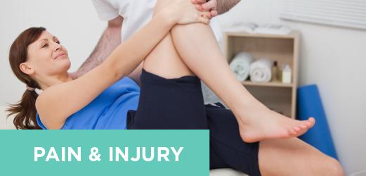 Welcome-Pain & Injury